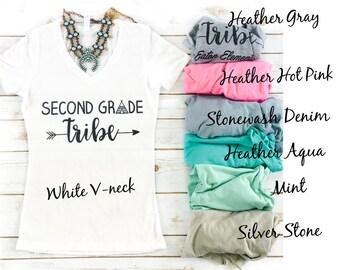 Custom Grade Teaching Tribe Shirts