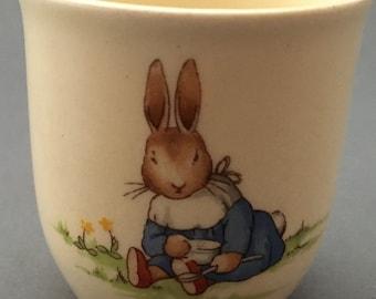 Vintage Royal Doulton Bunnykins Egg Cup.