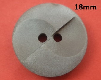 13 Buttons Grey 18 mm (4683) button