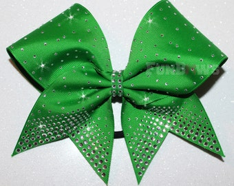 Blinged out Tails Beautiful Cheer Bow by FunBows !