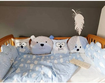 Crib Bumpers for Baby Boys