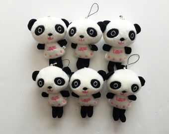 Party Favors ~~Set of 6 Panda, Baby shower ,Snoopy measures approximately 3 inches~~2 Dollars Each