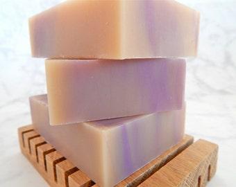 Savon à la lavande vanille - cadeau savon - lait de coco soap - savon naturel - végétalien soap - savon à l'huile essentielle - cadeau pour elle - lavande pour maman