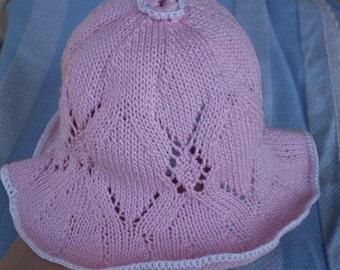 Pink Sugar Newborn Hat