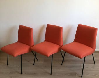 More 3 CM 145 Pierre Paulin vintage 1950's chairs