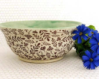 Ceramic Bowl - Dip Bowl - Serving Bowl - Cereal Bowl - Hand Thrown Bowl - Stoneware Bowl - Ready to Ship