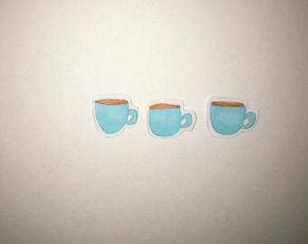 Handmade unique cups stickers (3)