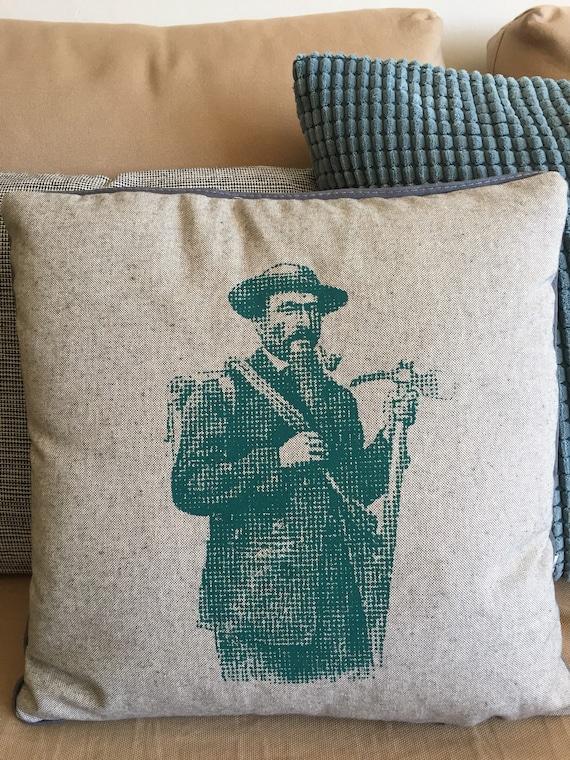 Mountaineer grey cushion