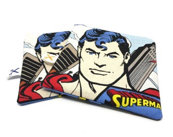 Mini zipper pouch Superman