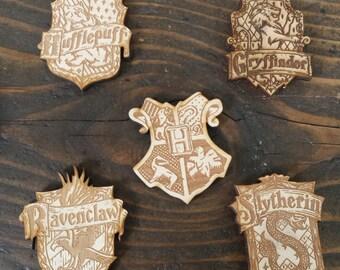 Harry Potter Magnets | Harry Potter House Magnets | Wizard Magnets | Harry Potter Decor | Harry Potter Accessories | Harry Potter Decoration