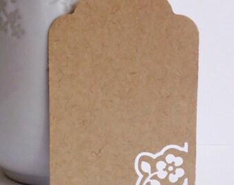 Kraft tags, set of 12 tags, Hang Tags, Plain Tags, Wedding favors, Favor tags, Diy Wedding, Party Supplies