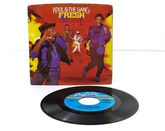Kool & the Gang - Fresh / In the Heart - Vinyl 45 Record - 80s Music