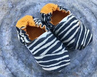 SALE 40% OFF ~ Wild Stripe Baby Shoes