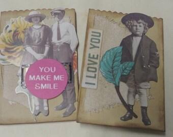 Mini Altered Paper Bags
