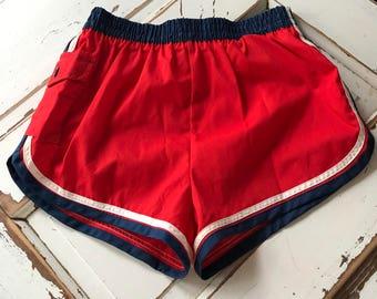 Vintage 1980's Men's Bathing Suit Swim Trunks