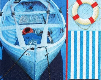 TOWEL in paper boat and buoy #M021