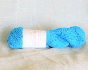 Prima Pima 9115, RGT yarn, turquoise, cotton yarn, 100% pima, destash new