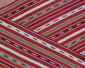 Guatemalan Fabric in Autumn Colors