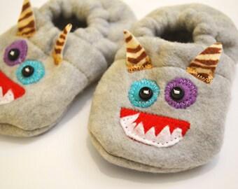 Monster Baby Booties