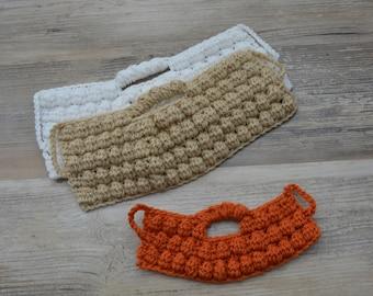 Crochet Baby Beard; Crochet Beard Hat