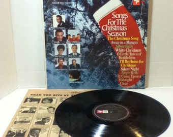 Songs For The Christmas Season Collectors Album Limited Edition Vintage Vinyl 33 LP Record Album Capitol Records Creative Products SL 6541