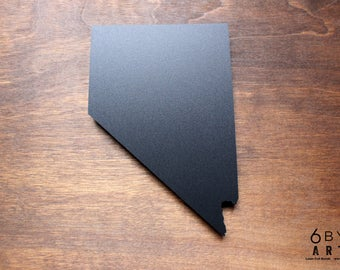 Nevada State Chalkboard Magnet   Small Chalkboard   State Shapes   Gifts From Home   American Southwest
