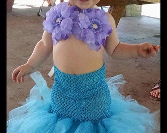 Mermaid tutu dress costume
