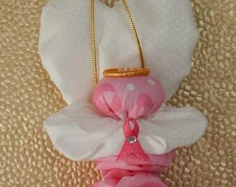 Brust-Krebs Bewusstsein Yo Yo Engel Ornament