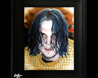 Kai Anderson - Original Drawing - American Horror Story Cult AHS Evan Peters Clown Murder Dark Art Mental Illness Horror Halloween Scary Pop