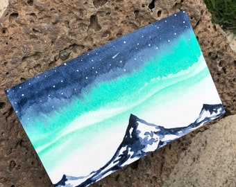 Original Block Mountain Painting