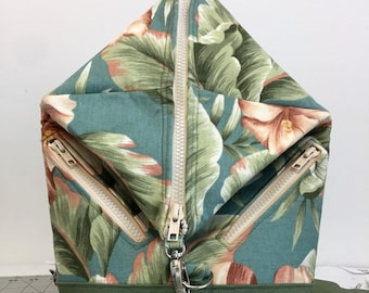 Ruck Pack, Backpack Purse, Lots of Zippered Pockets, Adjustable Straps, Roomy