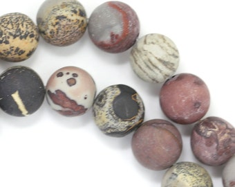 Crazy Horse Stone Beads - Matte Finish - 10mm Round - Limited Quantity
