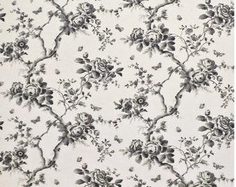 LCF67743F Vintage ashfield floral etching by Ralph Lauren