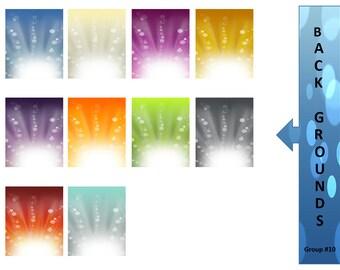 Digital Graphics - Digital Download - Background Clip Art - Clipart for Teachers - Instant Download -  Clip Art Graphics - Scrapbook