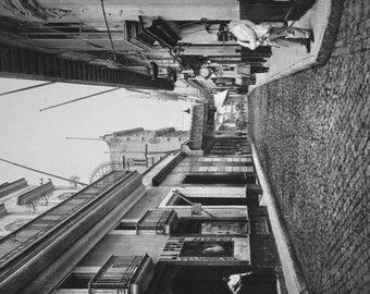 Street in Havana Cuba - Vintage Photograph (Art Print - Multiple Sizes Available)