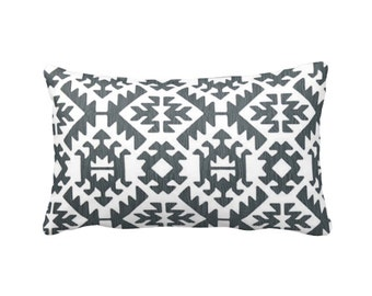 SALE | 50% OFF: 12x16 Pillow Cover Grey Pillow Cover Throw Pillow Cover Aztec Pillow Tribal Pillow Southwestern Pillow Sham Accent Pillow