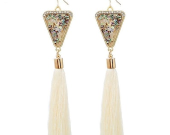New Fashion off white earrings