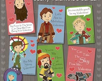 Firefly Valentine's Day Card