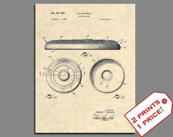 Patent Art - Frisbee Patent Prints - Vintage Frisbee Art Patent Poster - Ultimate Frisbee Wall Art - Frisbee Golf Patent Print Wall Art  373