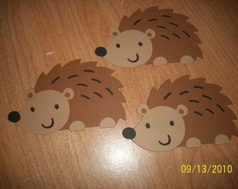 hedgehog die cuts- set of 3