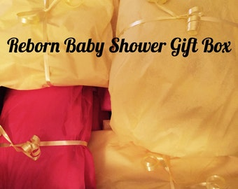 Surprise Baby Shower Box- Doll NOT included- Please read entire listing before ordering