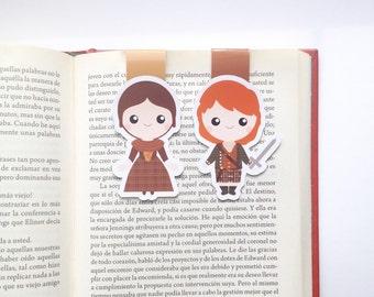 Outlander Magnetic Bookmark - Outlander Bookmark