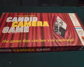 1963 Complete In Box Candid Camera Game
