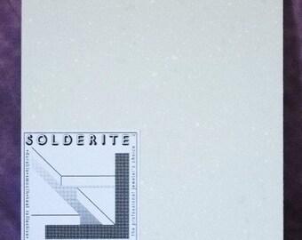 Solderite Block 12x12x3/4 Inch Soldering Block Soft