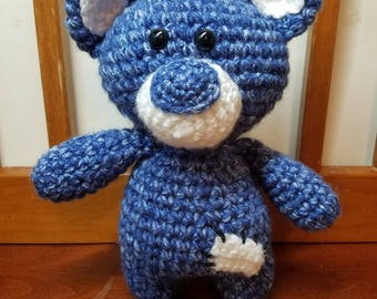 Patches the Blue Bear