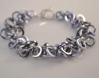 Lavender  Chainmaille Bracelet
