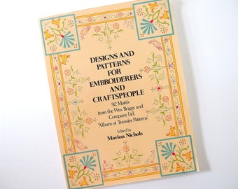 Designs and Patterns for Embroiderers and Craftspeople, Edited by Marion Nichols