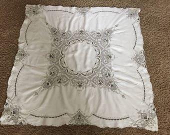 Madeira  Linen Square Tablecloth