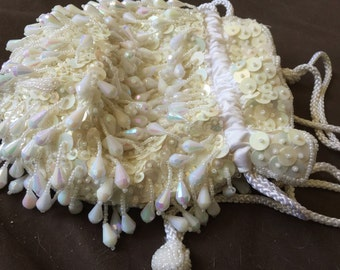 Vintage Carla Marchi Bag Purse Beaded