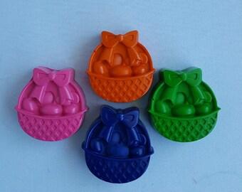 Easter Basket Crayons - Set Of 4 - Easter Crayons - Easter Basket Gifts - Easter Coloring - Party Favor